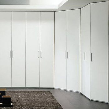 contemporary corner wardrobe