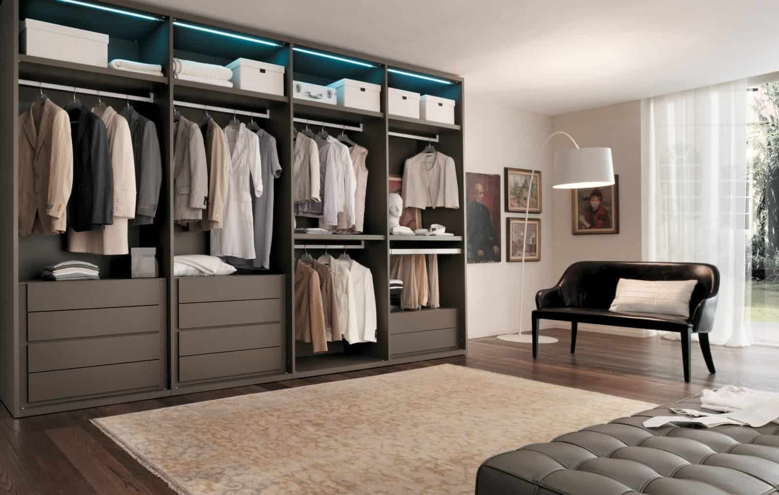 Bedroom Walk In Closet Ideas