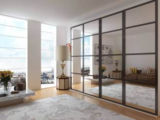 Wardrobes door made to measure sliding wardrobe doors for Sliding mirror doors