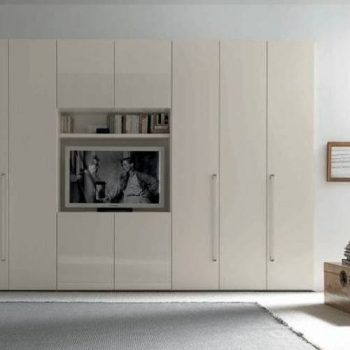 high quality fitted furniture - bespoke built-in wardrobe