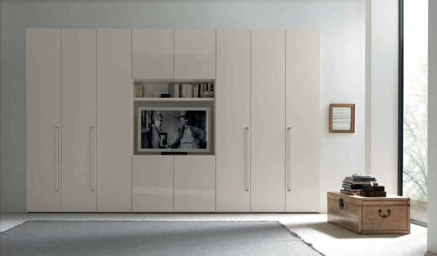 Modern Made To Measure High Gloss Fitted Closets Iwardrobes