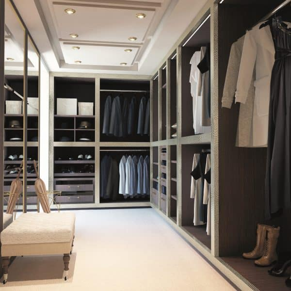 Made-to-measure walk-in closet company in London