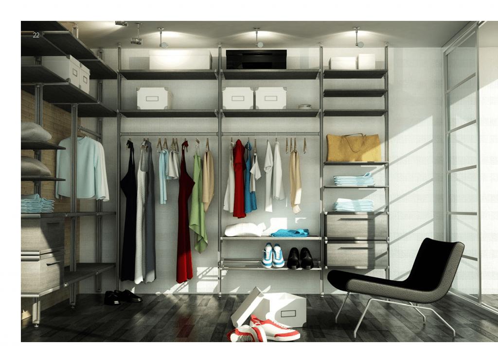 Bespoke Fitted Storage Solutions Aluminium Storage