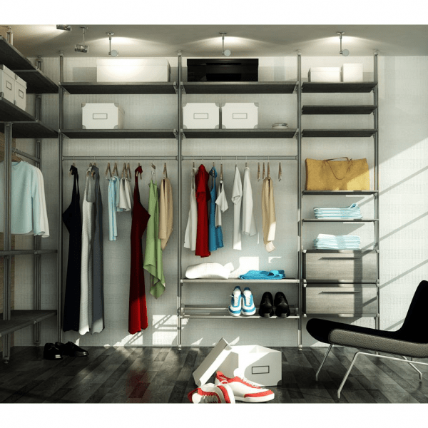 Bespoke high quality made-to-measure built in bedroom storage solutions, wardrobes