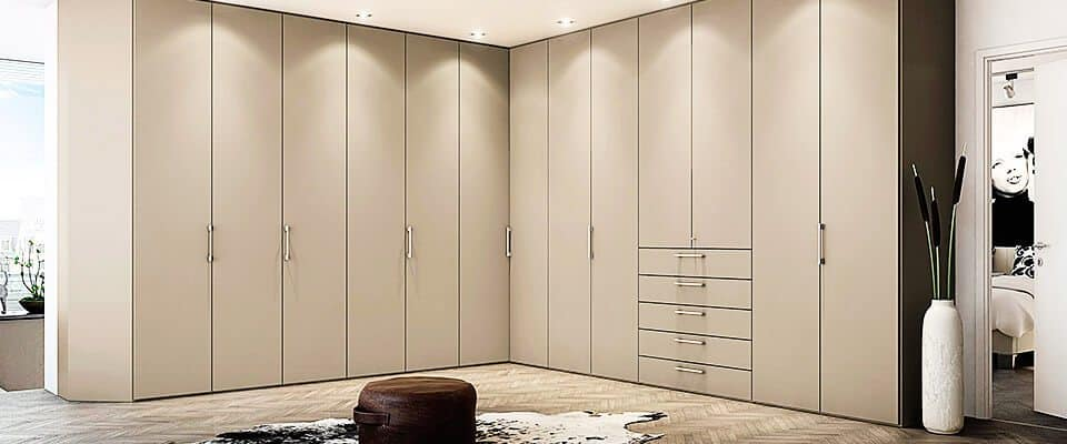 Bespoke Fitted Wardrobes Made To Measure Corner Walk In