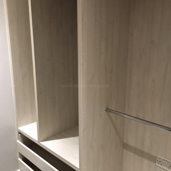 Made to measure walk in wardrobe in London
