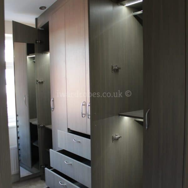hinged door wardrobe London