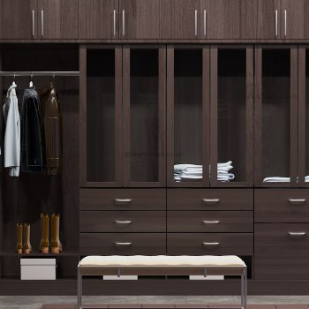 Dark designer dressing room company in London