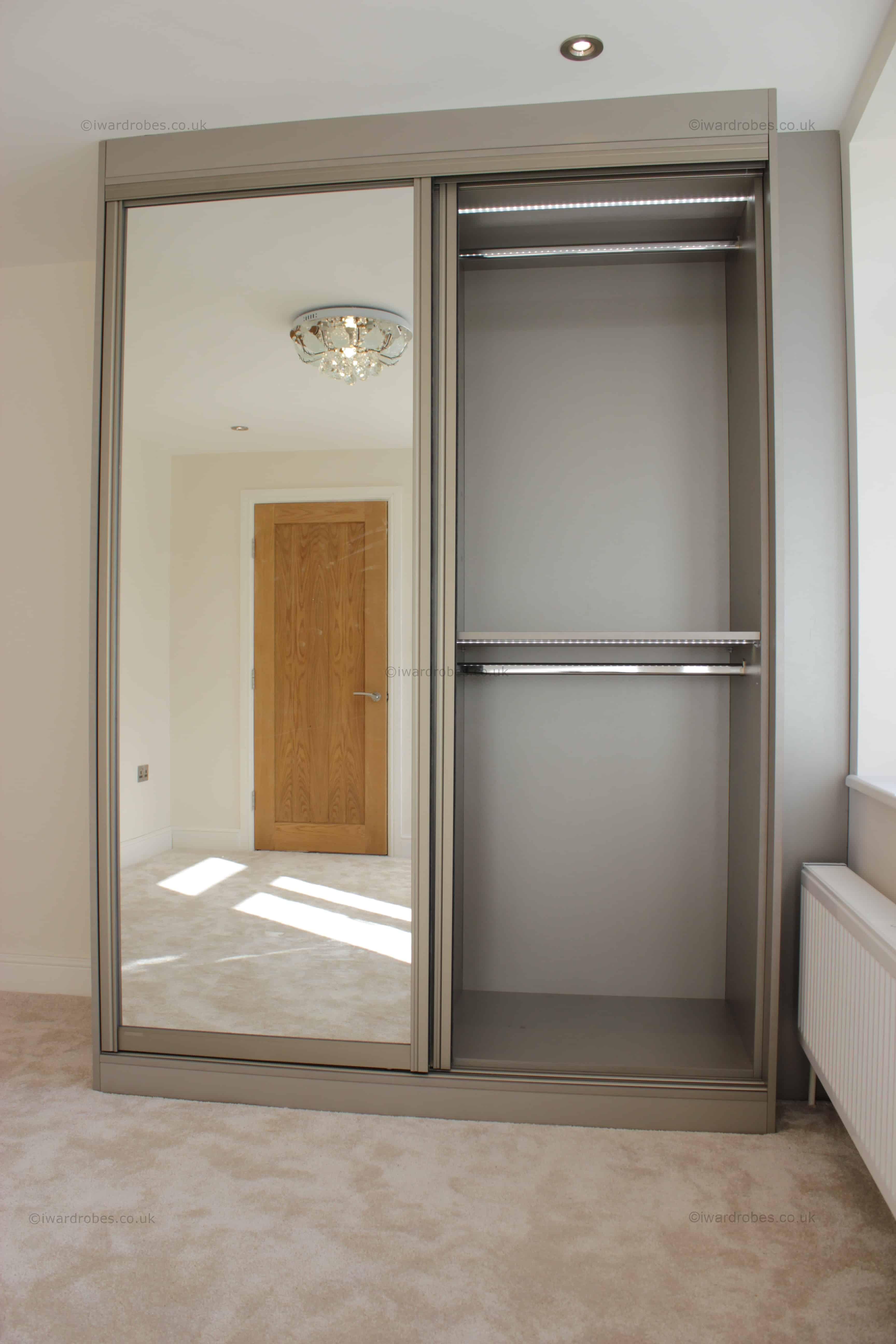 Sliding Wardrobe Design Mirror