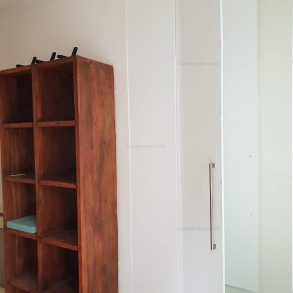 Bespoke fitted floating cupboard