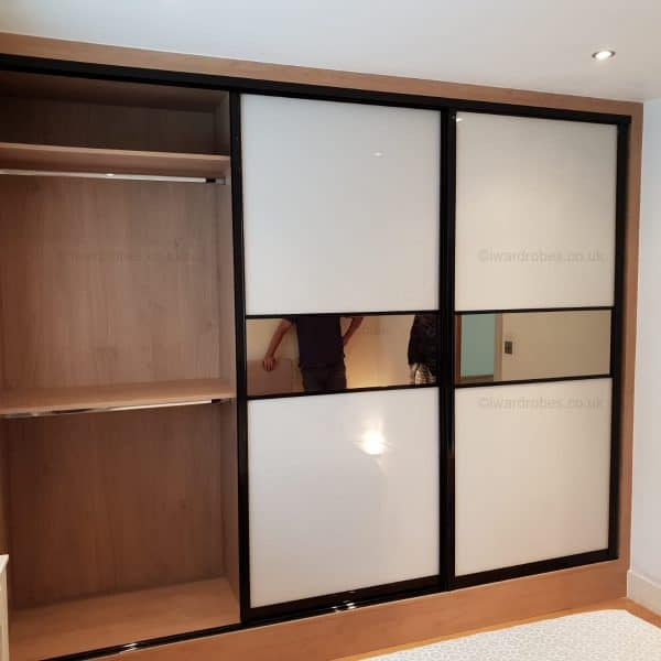 Bespoke mirror sliding door wardrobe