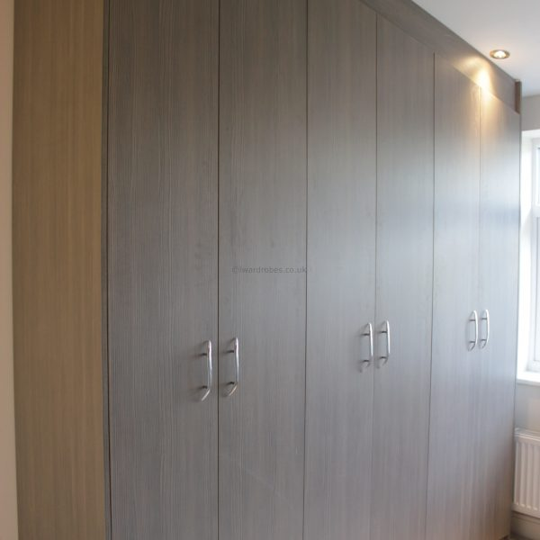 Custom made hinged door wardrobe inLondon