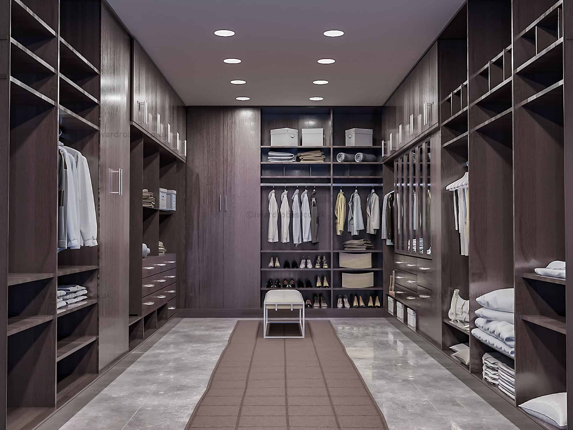 Custom Walk In Closet Swiss Cottage I Wardrobes London