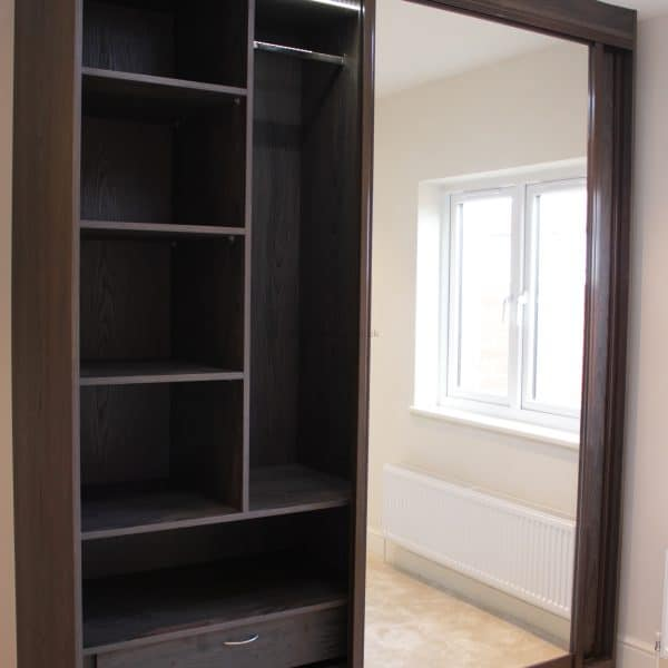 Cost Of Fitted Wardrobes: Fitted Sliding Mirror Door Wardrobe Putney