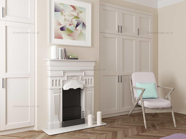 cheaper e6626 b5015 Custom made Shaker style closet Richmond | i-Wardrobes London