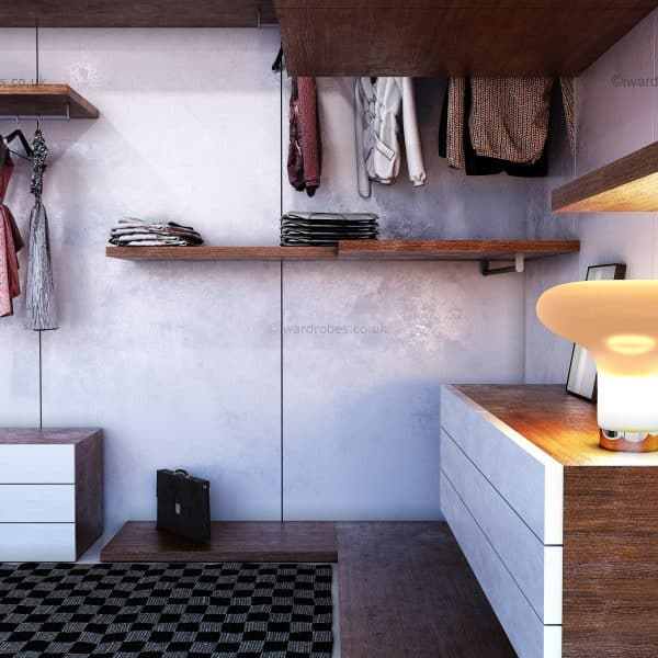 made-to-measure walk-in closet