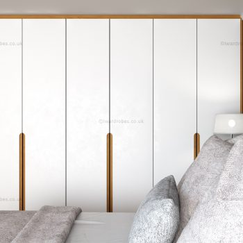 Fitted modern hinged wardrobe