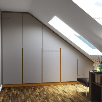 Modern hinged door wardrobe