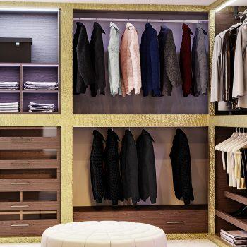 walkin wardrobe london