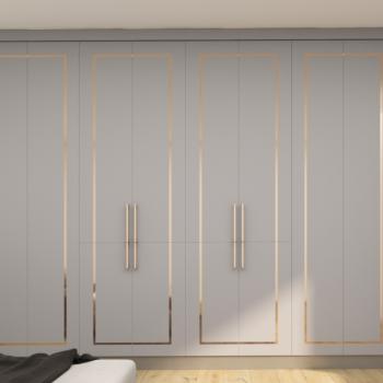 bespokehigh quality wooden wardrobe London