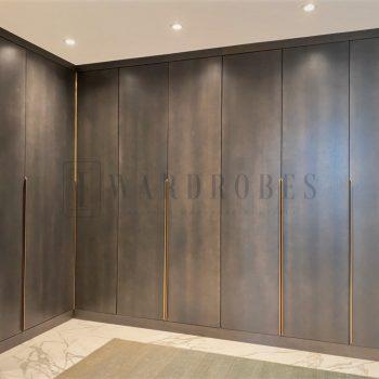 bespoke real wood wardrobe London