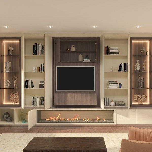 Bespoke designer tv units London